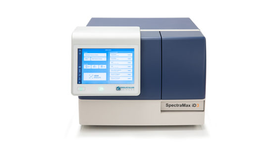 SpectraMax id3 Multimode Microplate Reader Front View